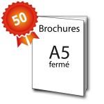 50 Brochures A5 - 3 jours