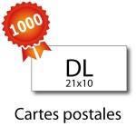 1000 Cartes postales panorama pelliculées - 2 jours