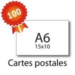 100 Cartes postales A6 pelliculées - 2 jours