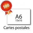 500 Cartes postales A6 - 2 jours