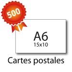 500 Cartes postales A6 pelliculées - 2 jours