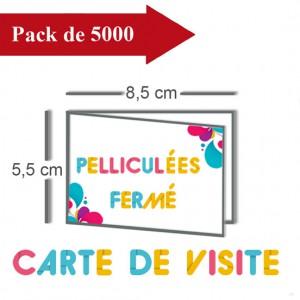 5000 Cartes de visite - 2 jours