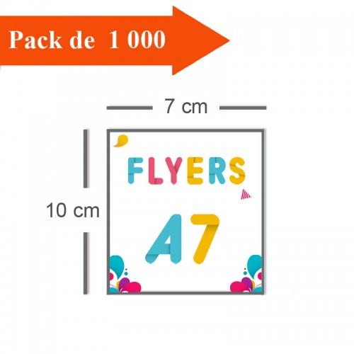 1000 Flyers A7 - 2 jours