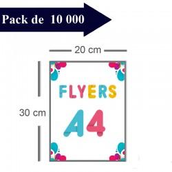 10000 Flyers A4 - 8 jours