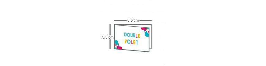Carte double volet