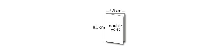 Carte 5,5x8,5cm / 11x8,5cm
