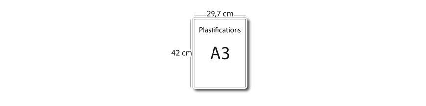 Plastification A3