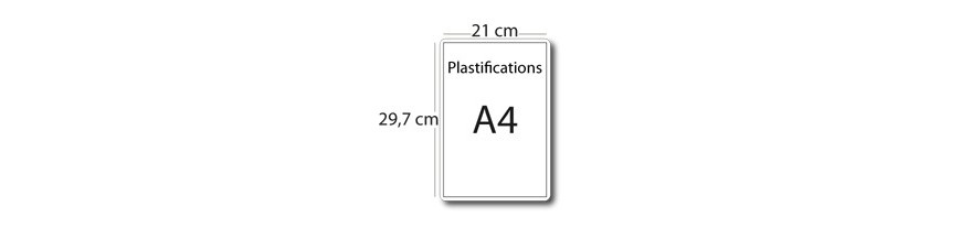 Plastification A4