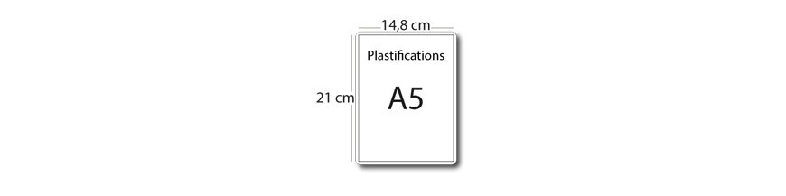 Plastification A5