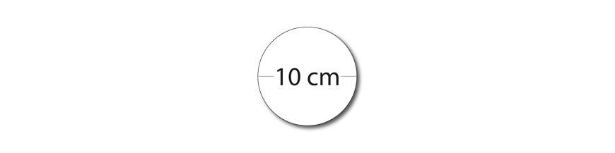 Sticker rond 10cm