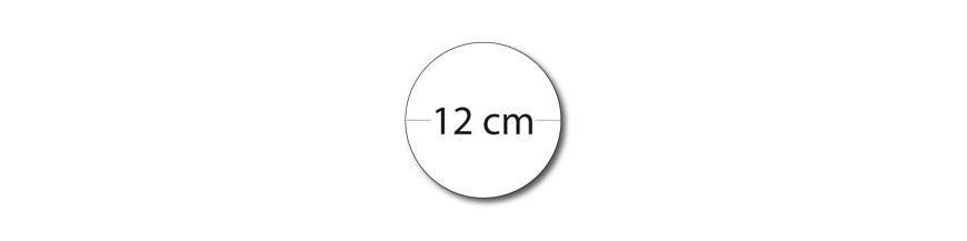 Sticker rond 12cm